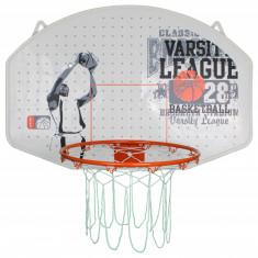 League Basketball basket with plate