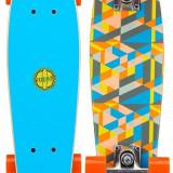 Free Flip Pennyboard lemn, 22, 5in albastru - Skateboard
