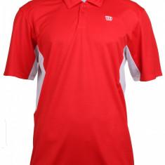 Great Get Polo Tricou barbati rosu-alb M