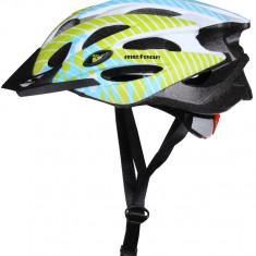 MV29 Casca ciclism albastru-verde M - Echipament Ciclism