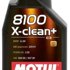 Ulei motor Motul 8100 X-CLEAN + 5W30 5L