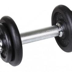 Gantera negru 20 kg, Gantere