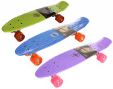 Flip LED Pennyboard plastic , 22,5in violet, 23, Penny board