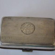 Tabachera argint vintage