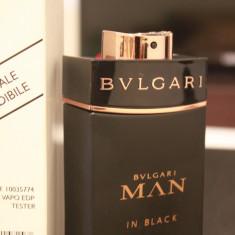 Parfum TESTER original Bvlgari Man in Black 100ml EDP - Parfum barbati Bvlgari, Apa de parfum