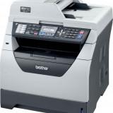 Imprimanta Multifunctionala Brother MFC-8380DN, 30 PPM, 1200 x 1200 DPI , Duplex, Retea, A4, Monocrom + Cartus Nou 8K