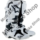MBS Cizme motocross Alpinestars Tech 10, alb, 43, Cod Produs: 34101077PE
