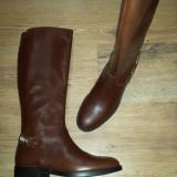 Superbe cizme dama noi piele integral foarte comode Sz.37 !