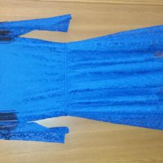 Rochie albastra, de ocazie - Rochie ocazie Ivana Fashion, Marime: 36, Culoare: Albastru