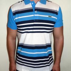 Tricouri LACOSTE - Noua Colectie !!! - Tricou barbati, Marime: L, XL, Culoare: Alb, Maneca scurta, Bumbac
