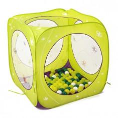 Spatiu de joaca pliabil Cub cu 80 bile - Ludi - Casuta/Cort copii