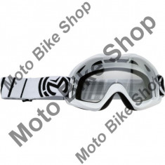MBS Ochelari motocross copii Moose Racing Qualifier, alb, sticla clara, Cod Produs: 26011902PE
