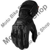 MBS Manusi textile impermeabile Icon Raiden Alcan, negru, S, Cod Produs: 33012638PE