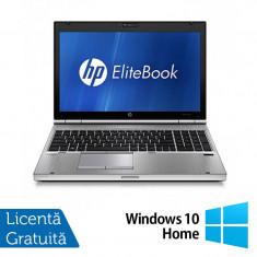 Hp EliteBook 8560p, Intel Core i5-2520M 2.5Ghz, 4Gb DDR3, 320Gb SATA, DVD-ROM, 15.6 inch LED-Backlit HD + Windows 10 Home