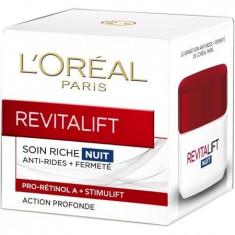 LOREAL CREMA REVITALIFT 50ML NOAPTE ANTIRID - Crema de noapte