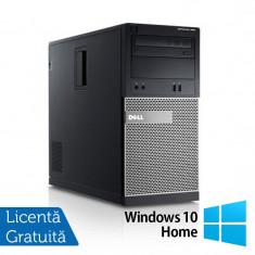 Calculator DELL GX790, Tower, Intel Core i3-2100, 3.10 GHz, 4GB DDR3, 250GB SATA, DVD-RW + Windows 10 Home - Sisteme desktop cu monitor