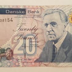 IRLANDA DE NORD 20 LIRE POUNDS 2012 DANSKE BANK - bancnota europa