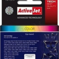 Cartus compatibil ActiveJet AH-657 Color 21 ml HP C6657A - Riboane imprimanta