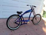 Bicicleta chopper Felt Torch Blue - model de colectie - 3 viteze
