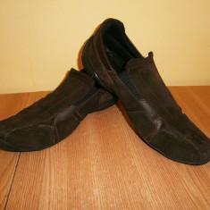 Pantofi casual barbati, Scalo, marimea 42, piele! - Pantofi barbat, Culoare: Maro