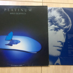 MIKE OLDFIELD PLATINUM disc vinyl lp muzica progresiv experimental rock 1979 - Muzica Rock virgin records, VINIL