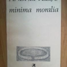 E3 Minima Moralia- Andrei Plesu - Filosofie