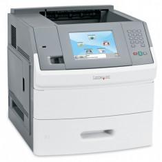 Imprimanta laser monocrom Lexmark T656DNE, Duplex, Retea, 55ppm, 1200, A4, Peste 50 ppm