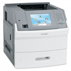 Imprimanta laser monocrom Lexmark T656DNE, Duplex, Retea, 55ppm - Imprimanta laser alb negru Lexmark, DPI: 1200, A4, Peste 50 ppm