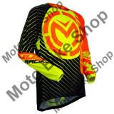MBS Tricou motocross copii Moose Racing Qualifer S18Y, negru/galben/portocaliu, XS, Cod Produs: 29121572PE