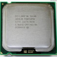 Procesor Intel Pentium E6600, 3.06 Ghz, 2Mb Cache, 1066 MHz FSB - Procesor PC