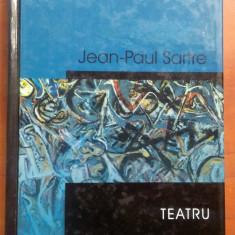 Teatru - Jean-Paul Sartre RAO, 2004 - Carte Teatru