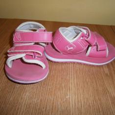 Sandale fetite PUMA, marimea 22, stare foarte buna! - Sandale copii Puma, Culoare: Roz
