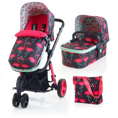 Carucior sistem 2 in 1 Giggle Flamingo Fling Ed. Limitata - Cosatto - Carucior copii 2 in 1