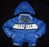 GEACA BARBATI GLUGA DETASABILA ALBASTRA GEOGRAPHICAL NORWAY ITALIA IARNA TOAMNA, XL, Albastru, Poliester
