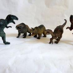 Lot 5 figurine dinozauri plastic, cca 12-14cm lungime - Figurina Dinozauri