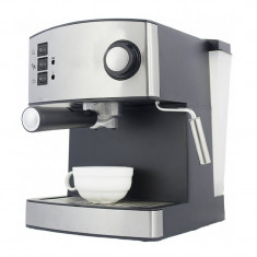 Espressor Zephyr, 1.6 l, Argintiu/Negru - Cafetiera