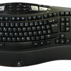 Tastatura Logitech Wireless K350, USB, Layout germana