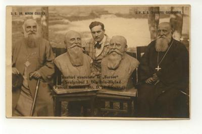I. Dimitriu Barlad, Episcopul Ciorogariu si patriarhul Miron Cristea, dedicatie foto