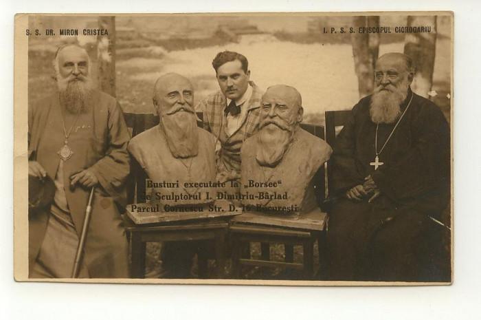 I. Dimitriu Barlad, Episcopul Ciorogariu si patriarhul Miron Cristea, dedicatie