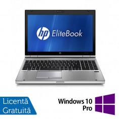 Hp EliteBook 8560p, Intel Core i5-2520M 2.5Ghz, 4Gb DDR3, 320Gb SATA, DVD-ROM, 15.6 inch LED-Backlit HD + Windows 10 Pro
