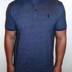 Tricouri POLO RALPH LAUREN - Albastru / Gri - Noua Colectie !!! - Tricou barbati Ralph Lauren, Marime: S, M, L, XXL, Maneca scurta, Bumbac