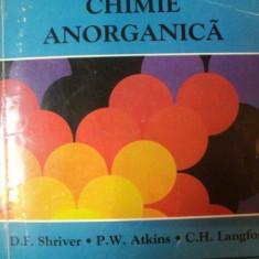 CHIMIE ANORGANICA de D.F. SHRIVER, PW. ATKINS, C.H. LANGFORD, 1998 - Carte Chimie