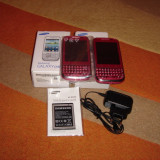 SAMSUNG GALAXY CHAT B5330 PINK NOI LA CUTIE - 239 LEI !!! - Telefon Samsung, Roz, 4GB, Neblocat, Single SIM, Single core