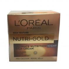 LOREAL CREMA ZI NUTRI-GOLD 50ML - Crema de zi