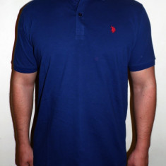 Tricouri U.S POLO ASSN. - Alb / Bleumarin - Noua Colectie !!! - Tricou barbati US Polo Assn, Marime: XL, XXL, Maneca scurta, Bumbac