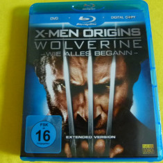 X-Man - blu-ray + dvd - Film SF Altele, Engleza