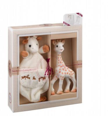 Set cadou Girafa Sophie cu batistuta - Vulli foto