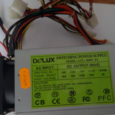 Sursa Delux 500W ATX - Sursa PC Delux, 500 Watt