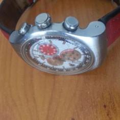 Ceas Swatch cronograph original big red 47 mm - Ceas barbatesc Swatch, Quartz