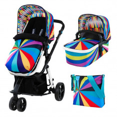 Carucior sistem 2 in 1 Giggle Go Brightly ed. limitata - Cosatto - Carucior copii 2 in 1